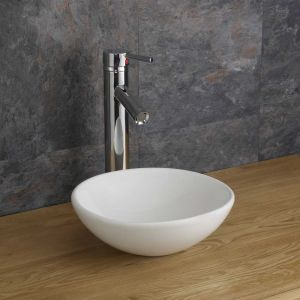 Gela 285mm Small Round Shallow Cabinet Sink Basin