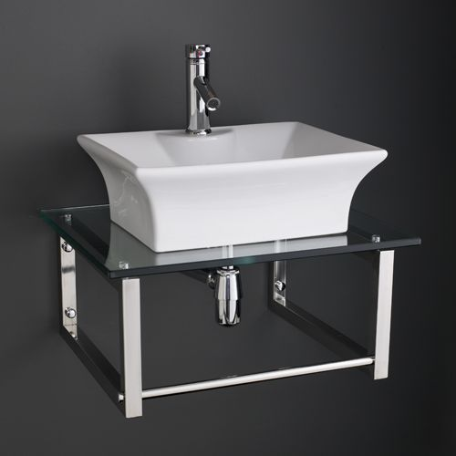 Miraculous Large Rectangular Bathroom Sink With 600Mm X 500Mm Glass Shelf Unit 600G Download Free Architecture Designs Scobabritishbridgeorg