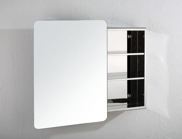 uk availability d7c00 4f07a Large Sliding Door Bathroom Wall Mirror Cabinet 660mm x 460mm VALENCIA