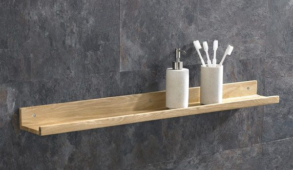 450mm Long Solid Oak Hand Made Bathroom Bedroom Lounge