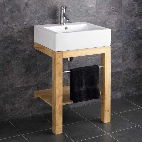 Verona Belfast Style Floor Mount Bathroom Basin With