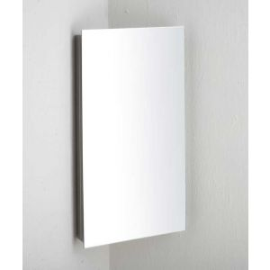 Corner Mirror Bathroom Cabinet With Single Door 600mm x 300mm REIMS