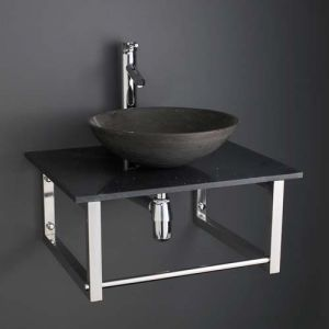 Portici Basin and Marble Shelf Set