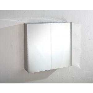 Madrid Double Door Mirror Wall Cabinet
