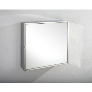 Square Single Door Wall Mirror Bathroom Storage Cabinet 500mm SEVILLE