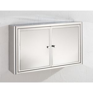Bathroom Mirror 2 Door Bathroom Storage Cabinet 600mm x 380mm NANCY