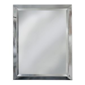 Monte Stainless Steel Framed Mirror