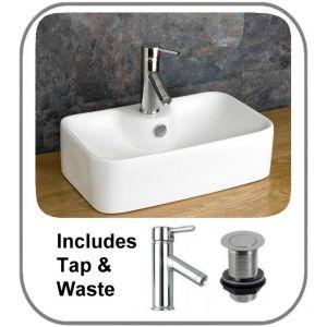 Forli Basin + Tap + Waste Set