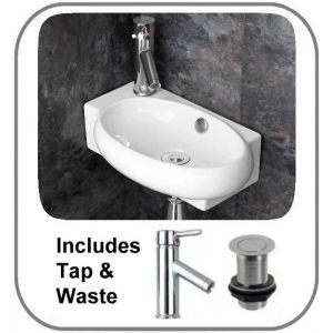 Lecce Basin + Tap + Waste Set