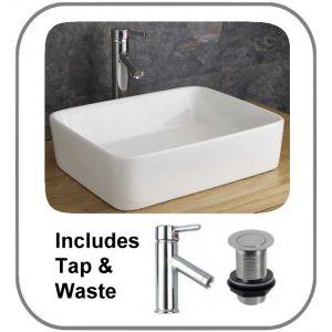 Balzano Basin + Tap + Waste Set