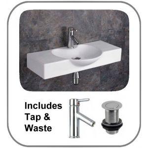 Aprilia Basin + Tap + Waste Set