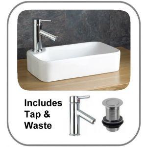 Basin + Tap + Waste Set