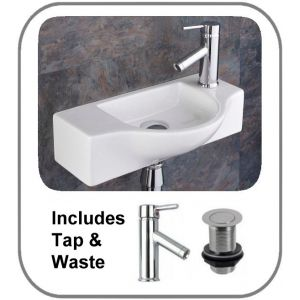 Viterbo Basin + Tap + Waste Set