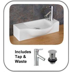 Viterbo Basin + Tap + Waste Set