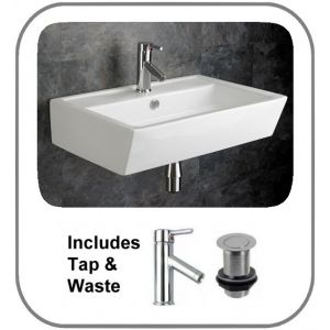 Cremona Basin + Tap + Waste Set