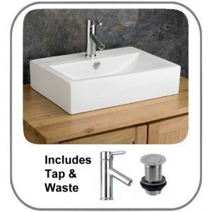Lamezia Basin + Tap + Waste Set