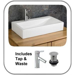 Altomura Basin + Tap + Waste Set