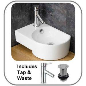 Aversa Basin + Tap + Waste Set
