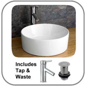Caserta Basin + Tap + Waste