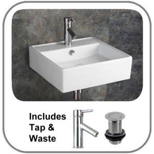 Napoli Basin + Tap + Waste Set