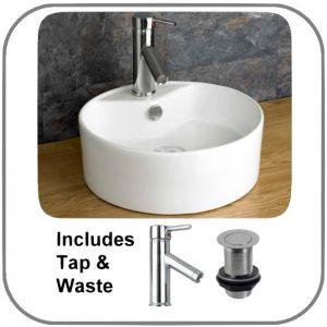 Valo Basin + Tap + Waste Set