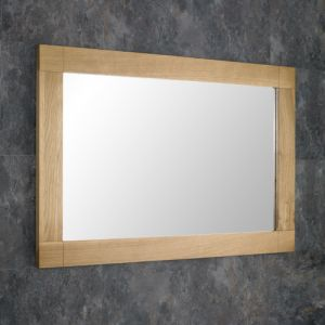 Solid Oak Mirror 90cm x 60cm