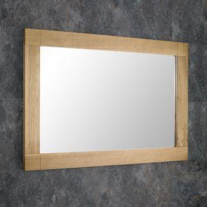 Solid Oak Mirror 90cm x 60cm