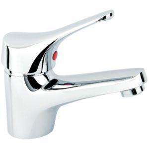 Elano High Quality 100mm Tall Single Lever Bathroom Basin Mixer Tap