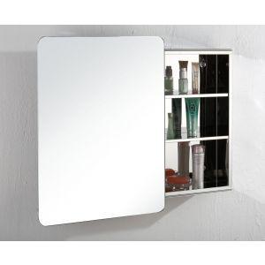 Large Sliding Door Bathroom Wall Mirror Cabinet 660mm x 460mm VALENCIA
