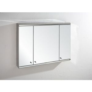 Biscay Triple Door Mirror Wall Cabinet