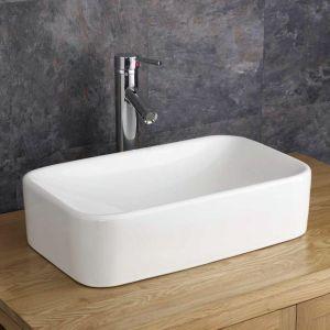 Free Standing Rectangle Countertop Bathroom Basin 490mm x 300mm REGGIO