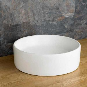Round Countertop Basin  £49 Value Range  410mm Diameter Washbasin Sink  Caserta
