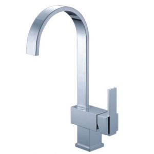 Waipori Tall Curved Mono Basin Tap