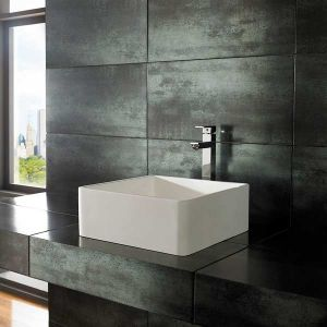 Pure White Stone Resin Basin