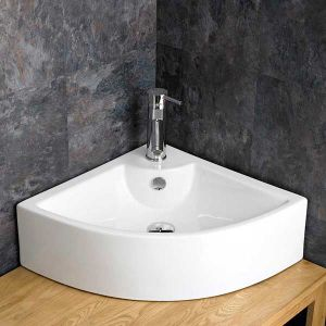 Prato Counter Mounted Corner Basin