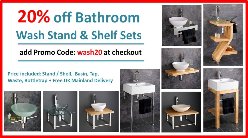 Wash Stand - 20% Discount Sale