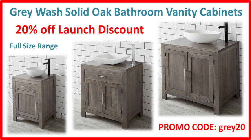Grey Oak - 20% Discount Sale