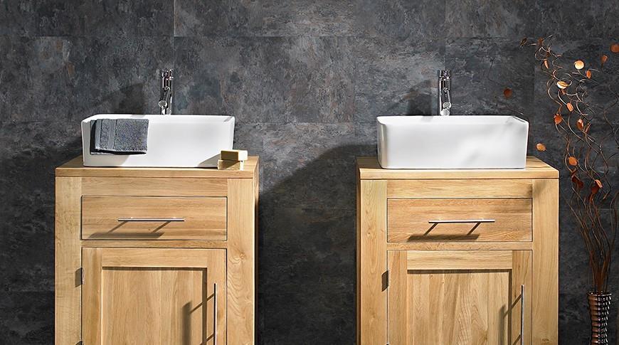 Bathroom Vanity Units, Freestanding Oak