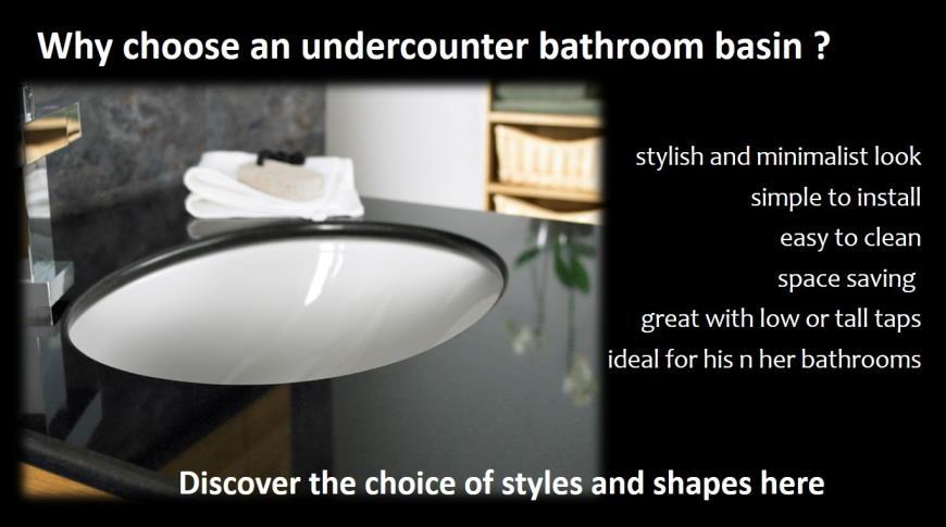 undercounter bathroom basin ceramic