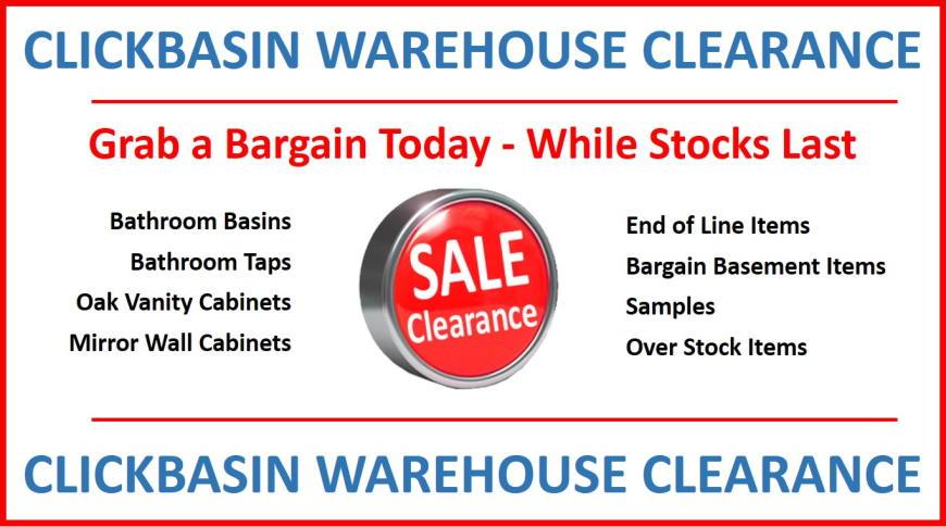 Click Basin - Massive Warehouse Clearance