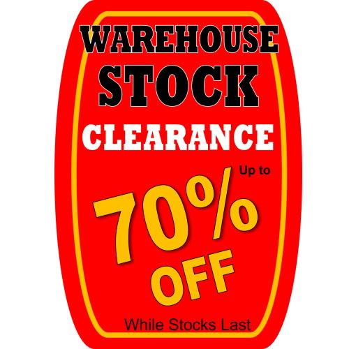 Warehouse Stock Clearance