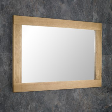 solid oak mirrors