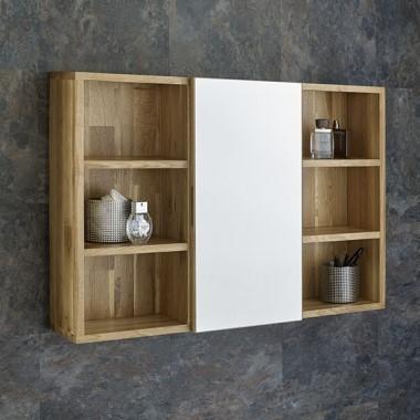 Oak Bathroom Wall Cabinets
